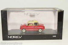 . NOREV 831012 NSU PRINZ 1 RED MINT BOXED