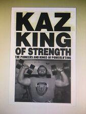 Bodybuilding Powerlifting BILL KAZMAIER King Of Strength Original New Book 2019
