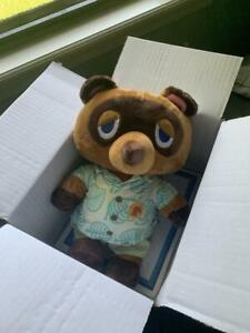 Build-A-Bear Animal Crossing New Horizons Tom Nook Summer Gift w/ Theme Song