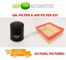 DIESEL SERVICE KIT OIL AIR FILTER FOR RENAULT LAGUNA 1.9 120 BHP 2001-07
