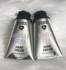 Victoria's Secret PINK Hand Cream Set - White Tea & Vanilla Bean - UK SELLER