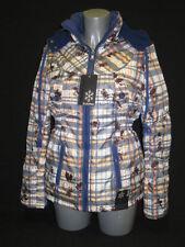 Manteaux, vestes et tenues de neige bleues avec capuche pour fille de 2 à 16 ans Automne