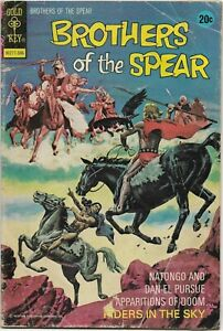 Brothers of the Spear #5 - VG - Gold Key