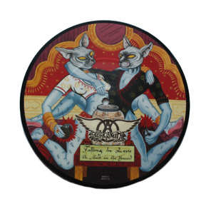 Aerosmith - Falling in Love - Limited edition 7 inch vinyl picture disc