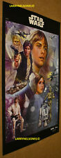 STAR WARS POSTER CELEBRATION NEW HOPE LUKE LEIA HAN SOLO C3PO R2D2 CHEWBACCA BEN