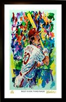 SALE MIKE SCHMIDT L.E. 44/199 PREMIUM ART PRINT SIGNED BY ARTIST, WINFORD