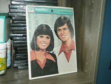 Donny and Marie Frame Tray Puzzle, Whitman, 1977-New-Sealed