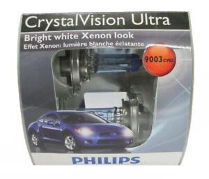 Philips 9003 CrystalVision Ultra Upgrade Headlight Bulb Pack of 2