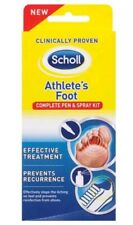 Scholl Athlete's Foot Complete Pen and Spray Kit New