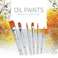 6Pcs Art Painting Brushes Set Acrylic Oil Watercolor Artist Paint BrushODUS