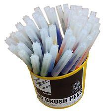 Pot of 50 Brush Pens Pack of 50 Felt Pens Multi Coloured made by Hope Education