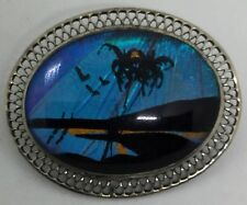 Vintage Sterling Palms Butterfly Pin (S91)
