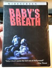 BABY'S BREATH (2003) Horror Movie ULTRA RARE DVD Matthew Krause independent film