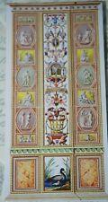 Carte de Vœux-Raphael Loggia Panel, Vatican-gravée par Giovanni Volpato