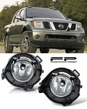 For 2005-2009 Nissan Frontier Clear Replacement Fog Light Housing Assembly Pair