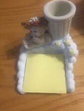 """Dreamsicles Pencil and Notepad Holder 10076 1997 3 3/4"""" tall"""