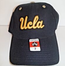 0db5c636 UCLA BRUINS NEW AUTHENTIC AMERICAN NEEDLE SCRIPT FITTED SIZE 7 Cap NCAA HAT