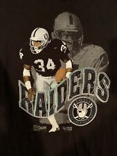 Vintage Bo Jackson T Shirt Salem Football Raiders SIZE X-Large