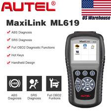 Autel ML619 Car Diagnostic Scanner OBDII Fault Code Reader Engine ABS SRS Airbag