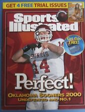 Josh Heupel  OKLAHOMA SOONERS 2000 SPORTS ILLUSTRATED ADVERTISING