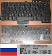 QWERTY KEYBOARD RUSSIAN DELL E5400 E5500 NSK-DBA0R 0XX748 XX748 Black