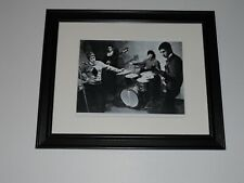"Framed 1964 The Who Pete Townshend, Roger Daltrey, Keith Moon print 14"" x 17"""