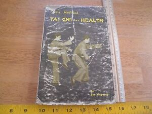 Lee's Modified Tai Chi for Health book 1968 Lee Ying-arng 200 pg