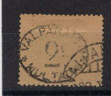 CHILE 1894 POSTAGE DUE OFFICIAL MULTA  2 cts USED