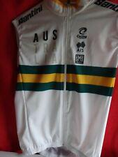 AUSTRALIAN NATIONAL TEAM   CYCLING WIND VEST JERSEY - SANTINI ITALY