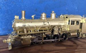 HO gauge Brass Locomotive 0-8-0 Sunset ATSF