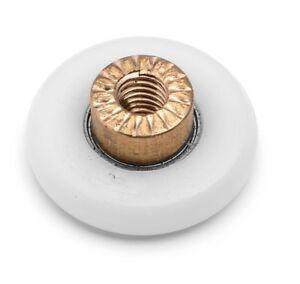 4 x Shower Door Rollers/Runners/Wheels 19mm, 23mm, 25mm, 27mm Wheel Diameter A3