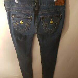 True Religion Womens Jeans 31X34 Blue