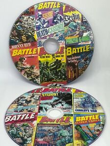 Battle Series of Comics 692 Comics on two DVD's