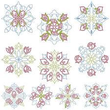 QUILTBLOCKS 1 * Machine Embroidery Patterns  * 10 Designs 2 Sizes