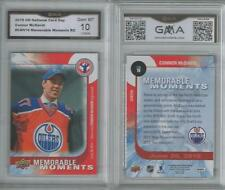 2015-16 UD CONNOR MCDAVID ROOKIE CARD #16 GEM MINT 10 EDMONTON OILERS UPPER DECK