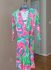 Lilly Pulitzer Emilia Wrap Dress Size S