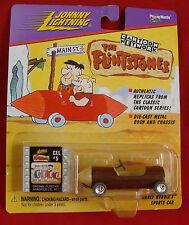Johnny Lightning The Flintstones Barney Rubbles Sports Car New