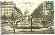 CP 75 PARIS - La rue Soufflot et la Panthéon c