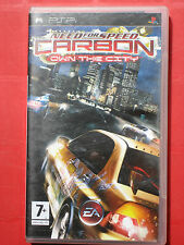 NEED FOR SPEED CARBON OWN THE CITY - Jeu PLAYSTATION PSP en Tbé avec sa notice