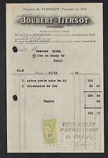 """PARIS (XI°) USINE de MACHINES à BOIS & MACHINES-OUTILS """"JOUBERT & TIERSOT"""" 19éà"""