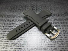 NEW 24mm HQ Black Rubber Diver Strap Watch Band Pam 1950 24 mm None Stitch
