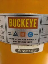 Buckeye 12650 Fire Extinguisher 60bc Dry Chemical 20 Lb