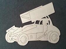 Sprint Race Car Laser Cut / Plasma Cut Garage Sign