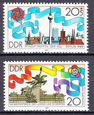 DDR 1988 Mi. Nr. 3248-3249 Postfrisch ** MNH