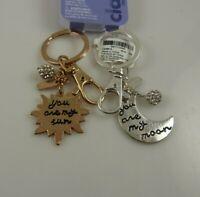moon you are my sun 2 Key chain keychain charm key chain best bff