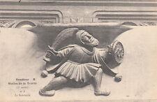 VENDOME église de la trinité les stalles le sarrasin