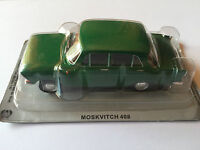 "DIE CAST "" MOSKVITCH 408 "" AUTO DELL' EST SCALA 1/43"