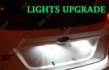FORD FIESTA MK7 PURE WHITE NUMBER PLATE ERROR FREE LED UPGRADE LIGHT BULBS
