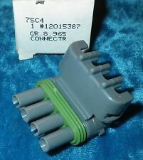 NOS 1992-1995 IDLE SPEED CONTROL ACTUATOR CONNECTOR GM#12015387 CADILLAC ALLANTE