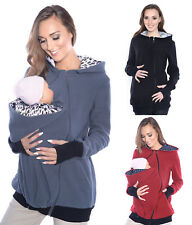Mija/ 3 in1 Maternity Fleece Hoodie Pullover for Babywearing BABY CARRIERS 4018